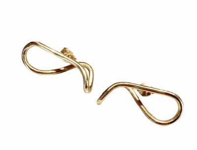 loop-earrings-gold
